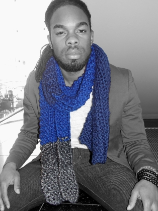 Textured scarf $25 SOLD